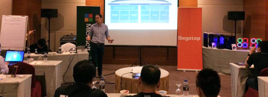 Segotep Products introduction and Microsoft Malaysia in Kuantan