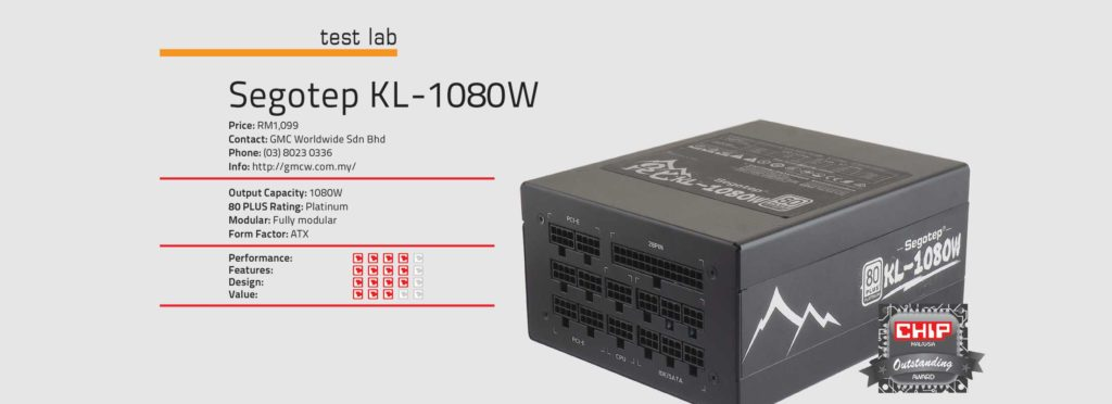 Test Lab: Segotep KL – 1080W